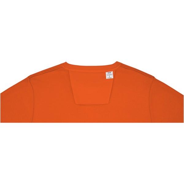 Zenon men's crewneck sweater - Orange / M