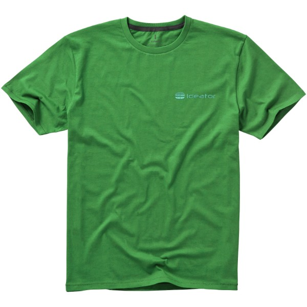 Nanaimo short sleeve men's t-shirt - Fern green / XS