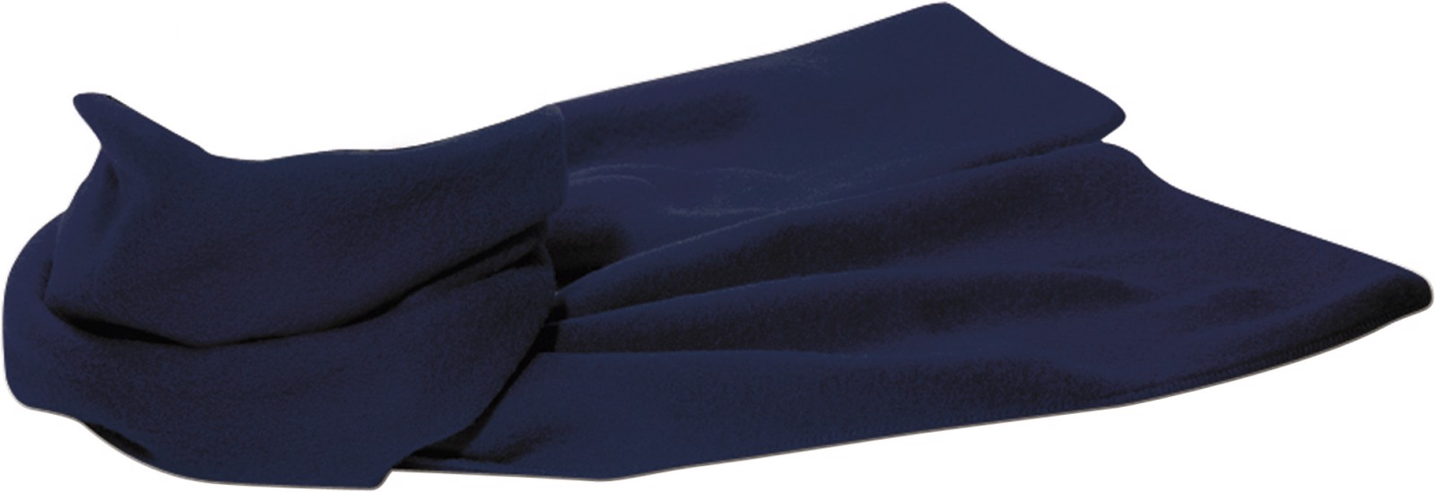 Polyester fleece (200 gr/m²) scarf - Blue