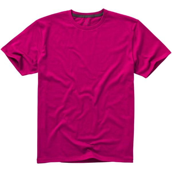 Nanaimo short sleeve men's t-shirt - Magenta / XL