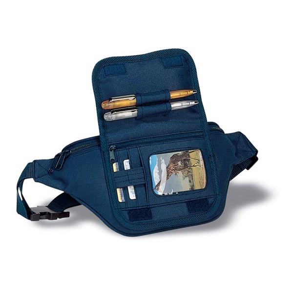 Waist bag with pocket Frubi - Blue