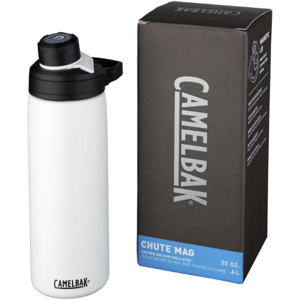 Chute Mag 600 ml copper vacuum insulated bottle - White