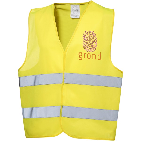 See-me XL safety vest for professional use - Yellow
