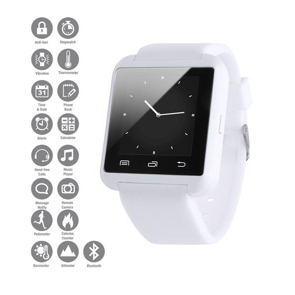Smart Watch Daril - White