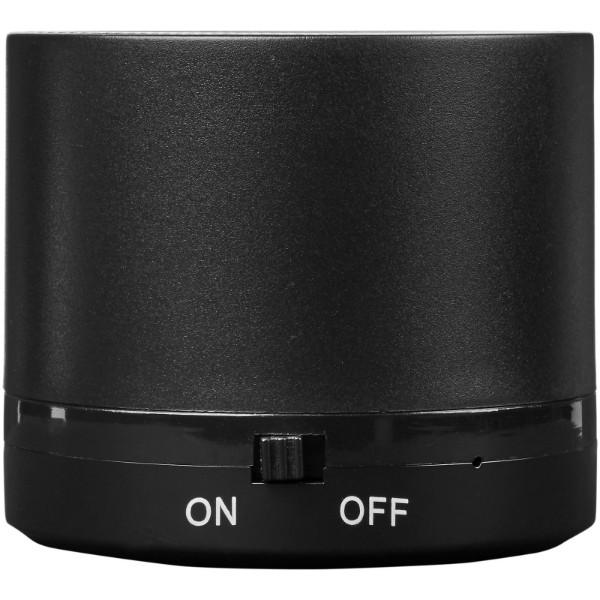 Cosmic Bluetooth® reproduktor s bezdrátovou nabíjecí podložkou - Černá