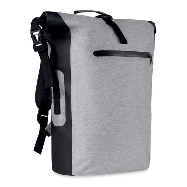 Tarpaulin backpack Scuba Bag - White / Grey