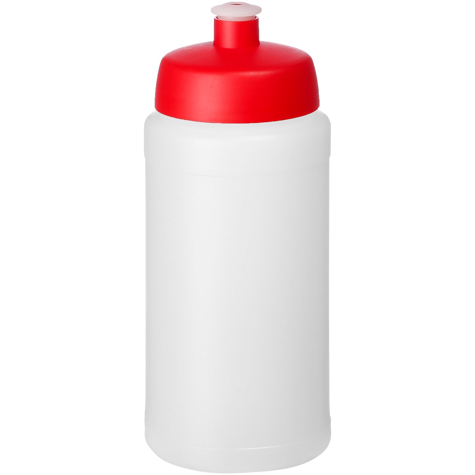 Baseline® Plus 500 ml bottle with sports lid - Transparent / Red