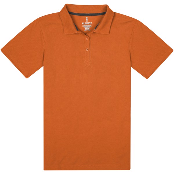 Primus short sleeve women's polo - Orange / XL