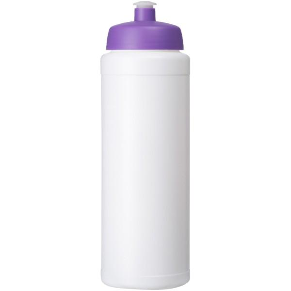 Baseline® Plus grip 750 ml sports lid sport bottle - White / Purple