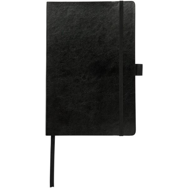 A5 Zápisník z PU kůže Robusta - Černá