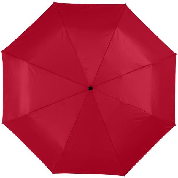 """21,5"""" deštník Alex s automatickým otvíráním/skládáním - Červená s efektem námrazy"""