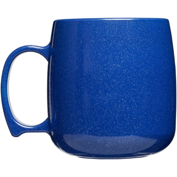 Classic 300 ml plastic mug - Mid blue