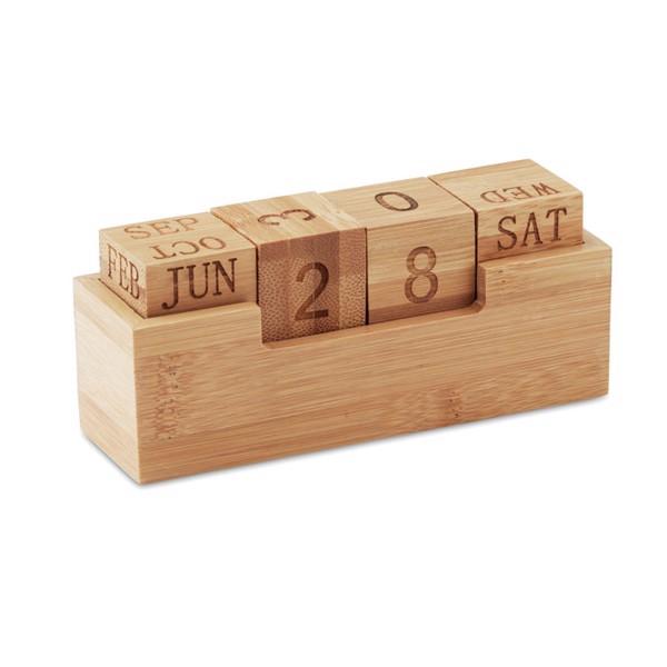 Calendario de bambú Karenda