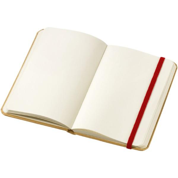Dictum notebook - Natural / Red