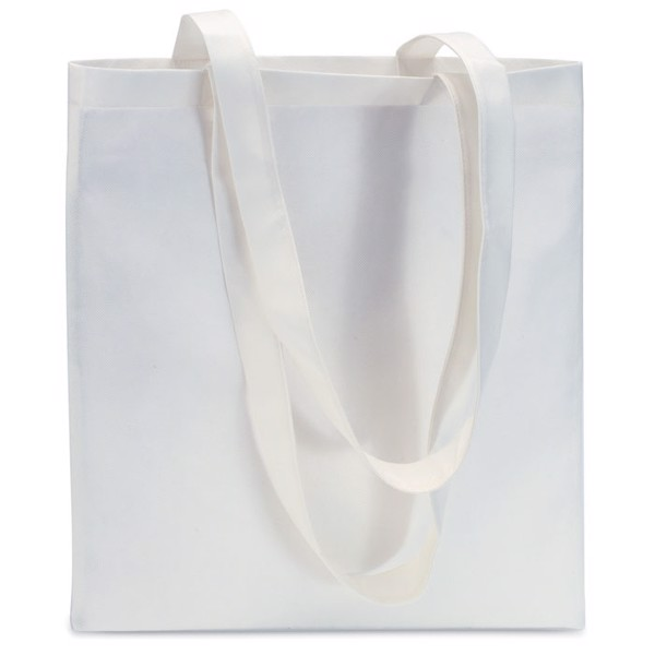 Shopping bag in nonwoven Totecolor - White