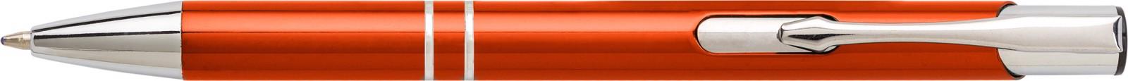 Aluminium ballpen - Orange