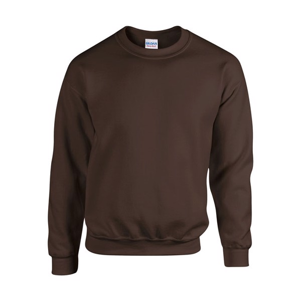 Mikina Heavy Blend Sweat 18000 - Dark Chocolate / XL