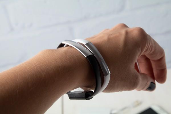 Bracelet Usb Charger Beth - White / Silver
