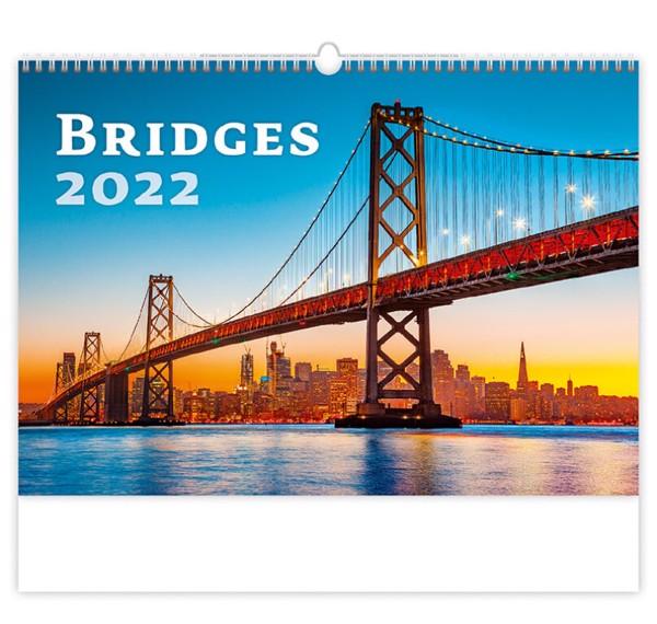 Měsíční kalendář Bridges 2022