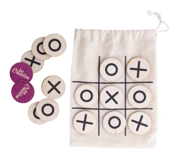 Tic-Tac-Toe OXO Creative - Natural