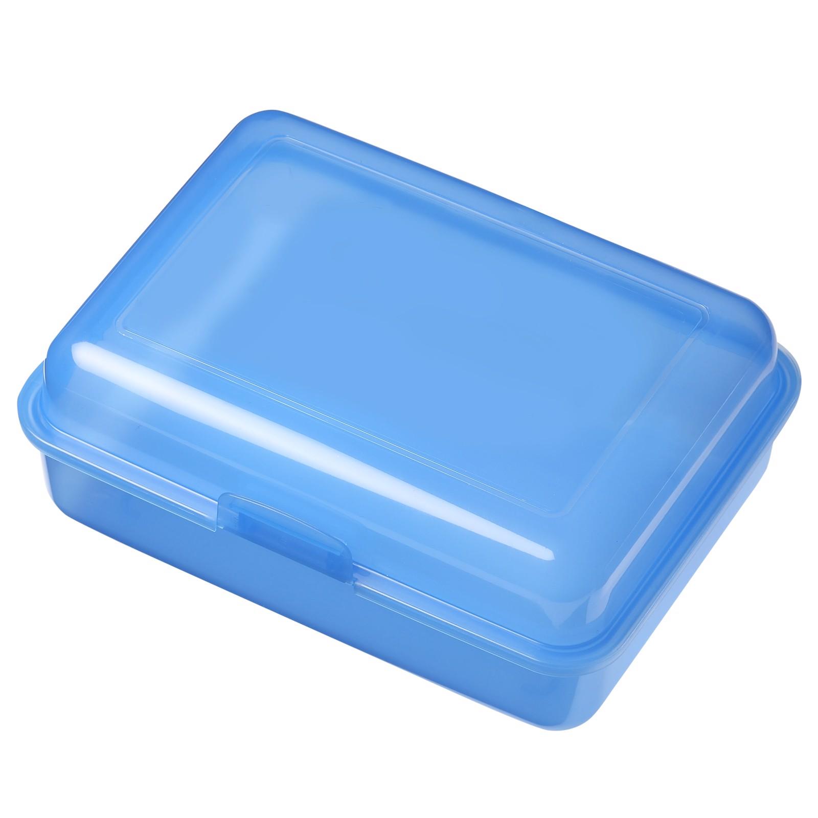 "Storage Box ""School Box"" Large, High-Gloss - Trend-Blue Pp"