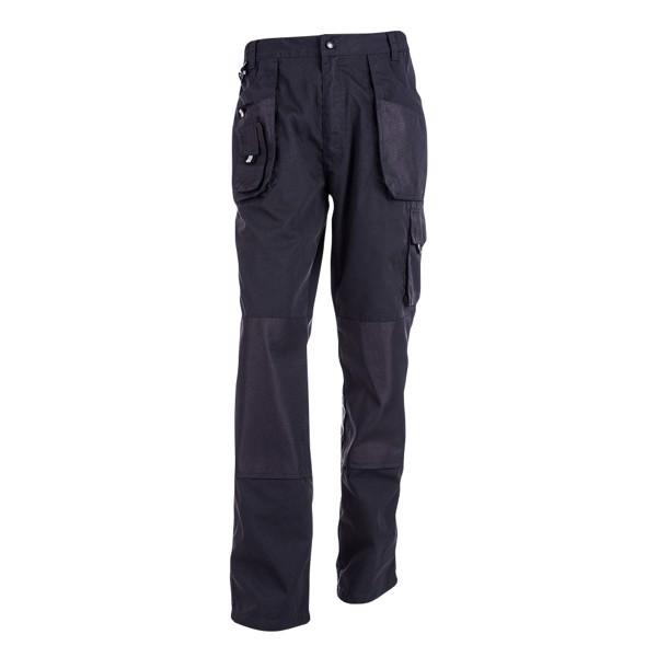 THC WARSAW. Men's workwear trousers - Navy Blue / XXL