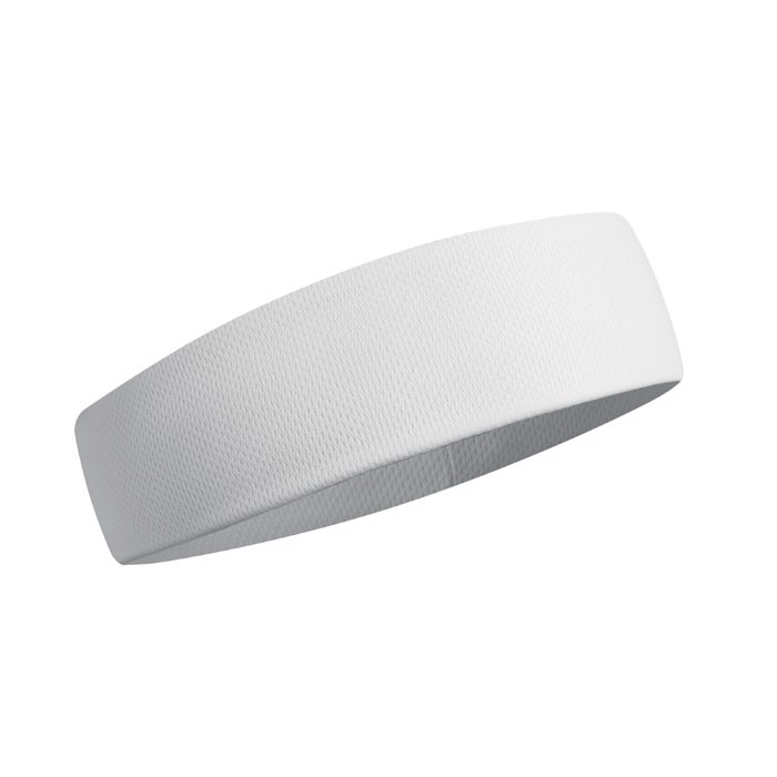 Cooling exercise headband Sportcool - White