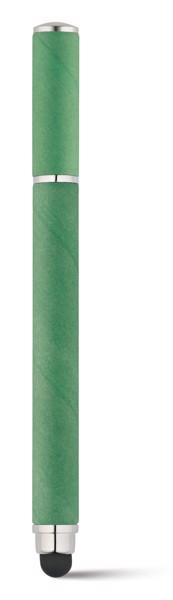 PAPYRUS. Bolígrafo en papel kraft y ABS - Verde