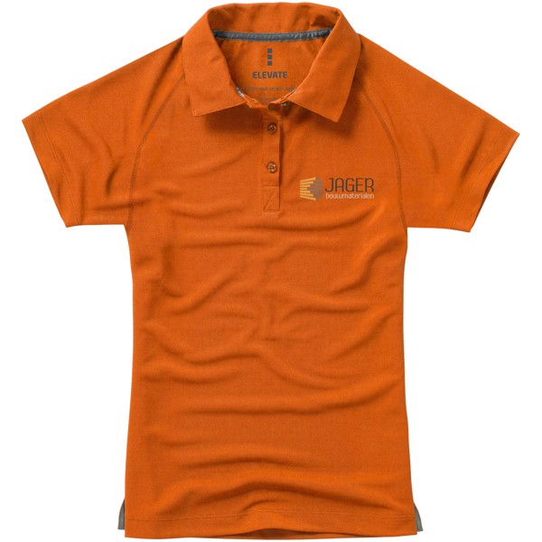 Ottawa short sleeve women's cool fit polo - Orange / M
