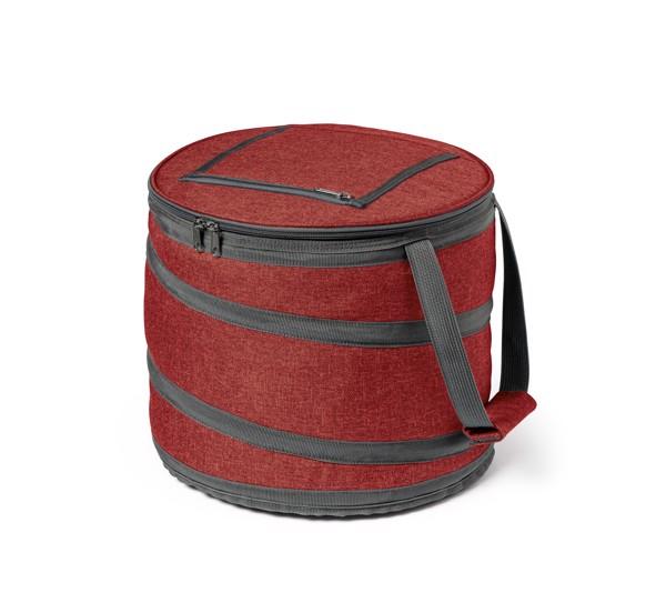 COAST. Ισοθερμική τσάντα 15 L - Κόκκινο