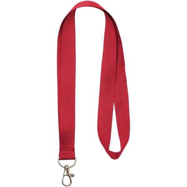 Impey Lanyard mit praktischem Haken - Rot