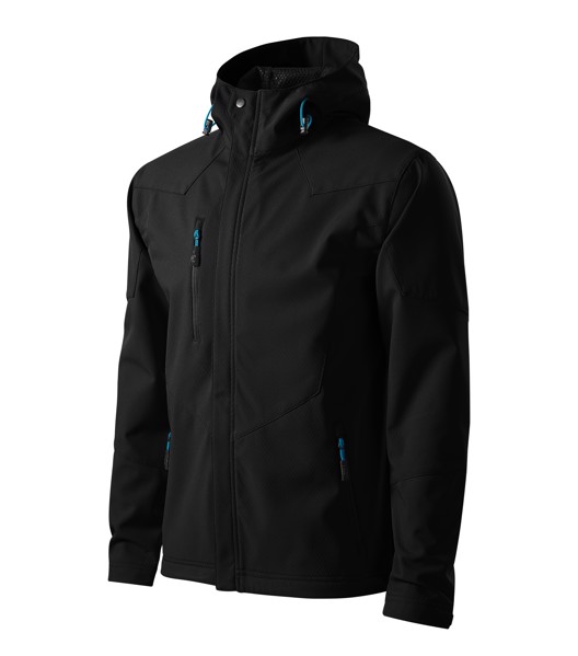 Softshell Jacket Gents Malfini Nano - Black / 2XL
