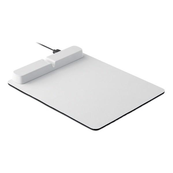 Mousepad mit USB Hub Techpad - weiß