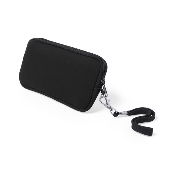 Holder Pouch Clerk - Black