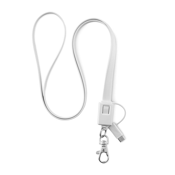 Lanyard charging cable Necklet