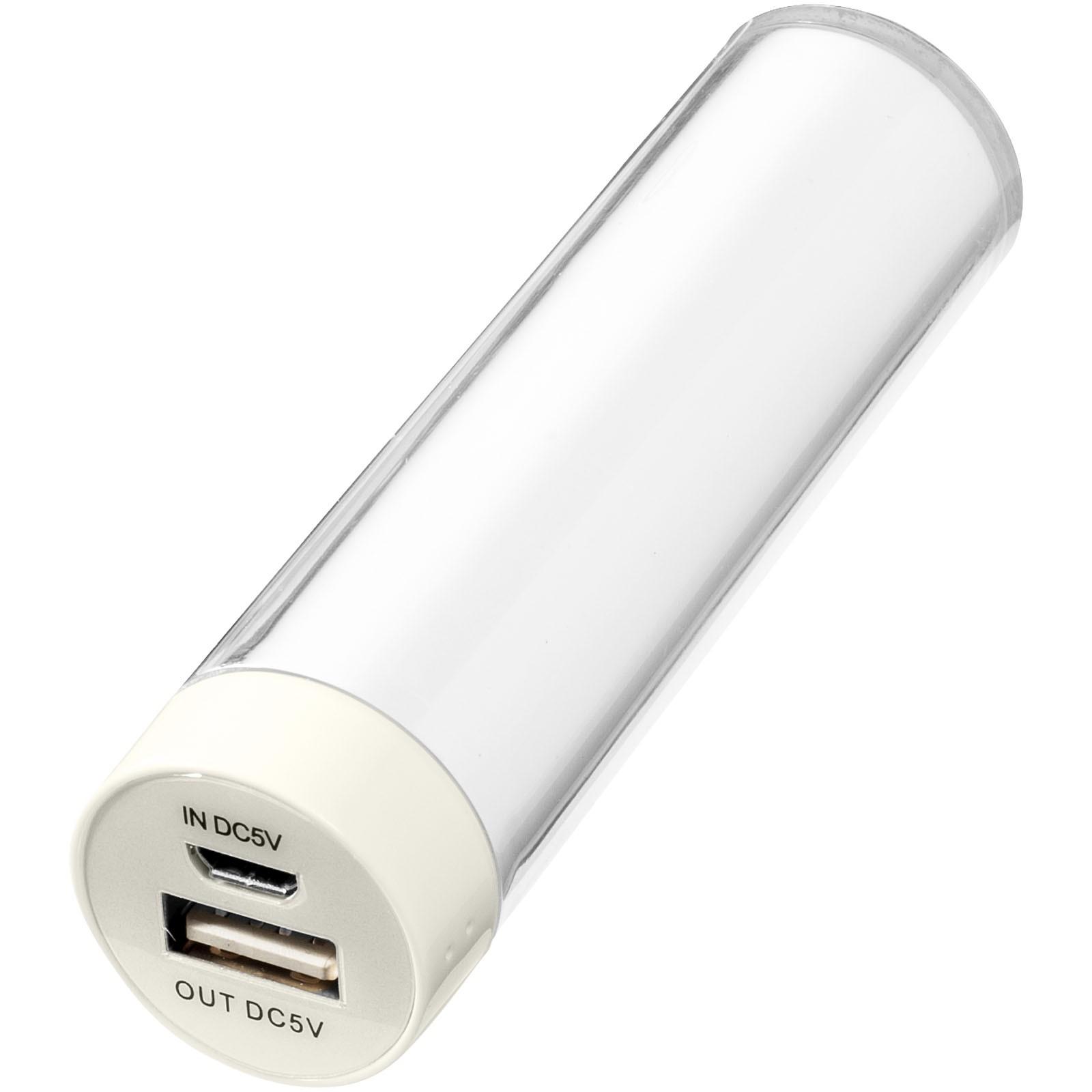 "Batería externa 2200mAh ""Dash"" - Blanco"
