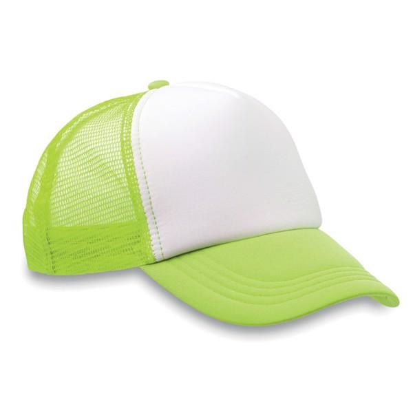Czapka -bejsbolówka Trucker Cap - fluorescencyjny zielony