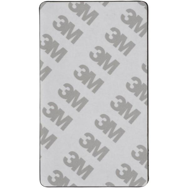 Eye Dual Pocket RFID Smartphone Etui - Silber