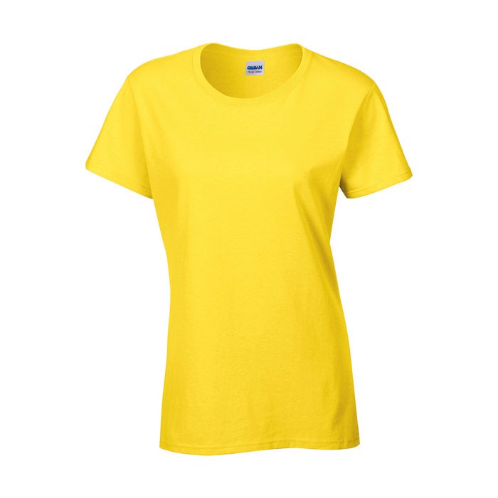 Ladies T-Shirt 185 g/m² Ladies Heavy Cotton 5000L - Daisy Yellow / S