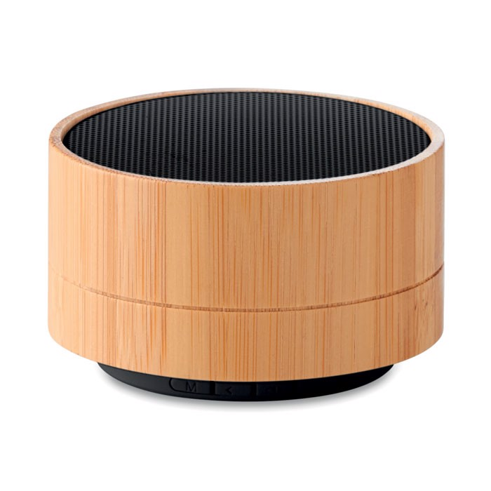 3W Bamboo Bluetooth speaker Sound Bamboo - Black