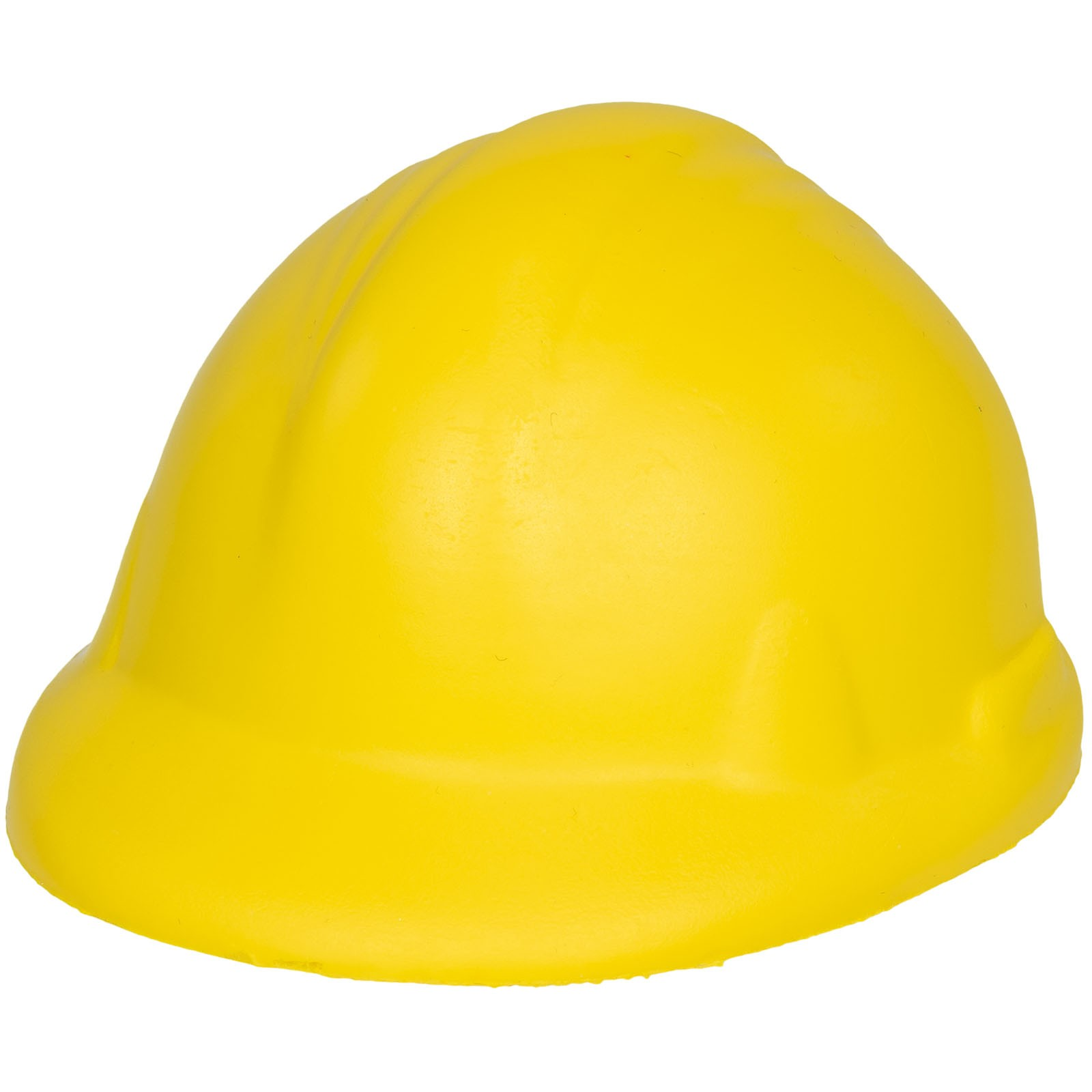 Sara hard hat stress reliever - Yellow