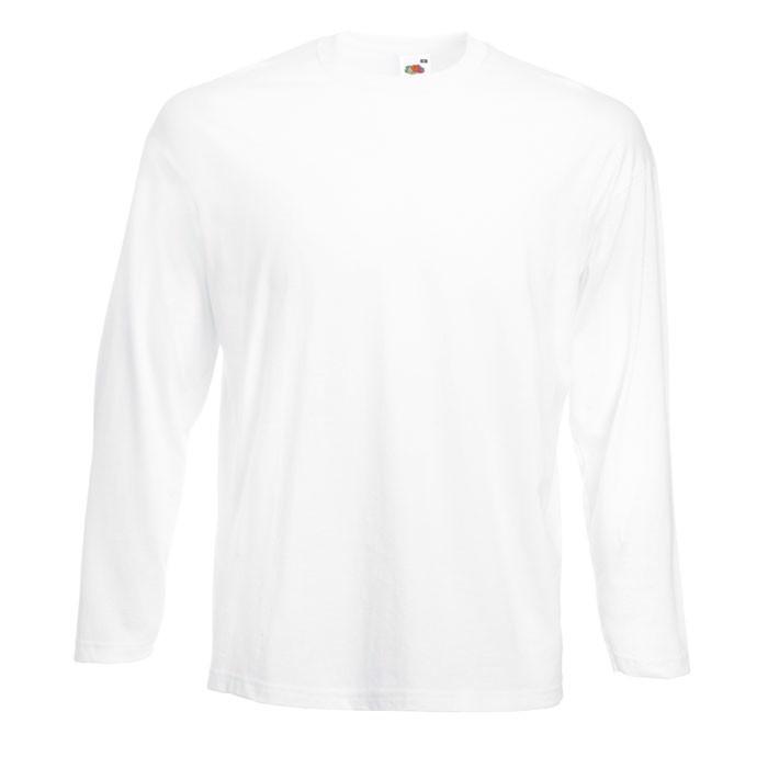 Tričko 165 g/m² Value Weight Ls 61-038-0 - White / S