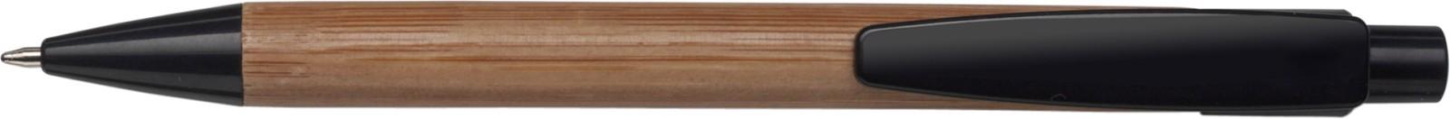 Bamboo ballpen - Black