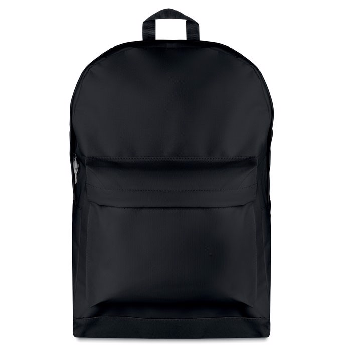 Backpack in 600D polyester Bapal Stripe - Black