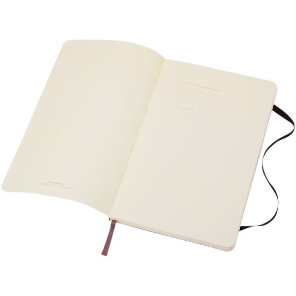 Classic Softcover Notizbuch Taschenformat – liniert - Schwarz