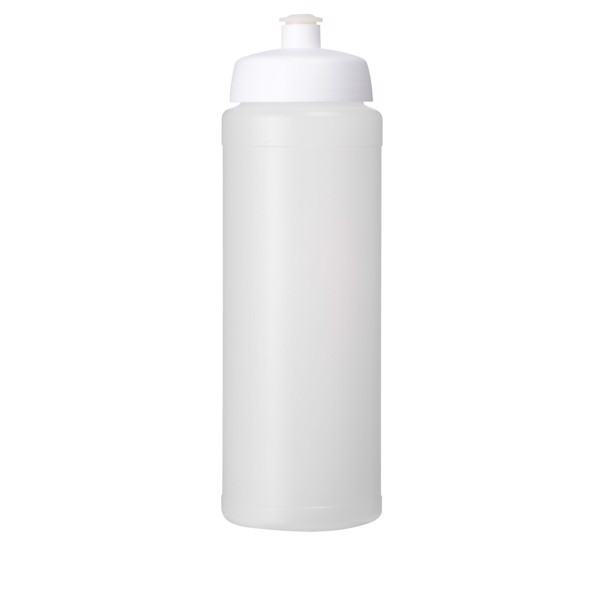 Baseline® Plus 750 ml bottle with sports lid - Transparent / White