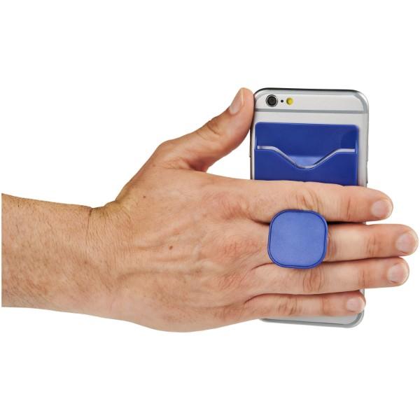 Purse mobiler Telefonhalter mit Geldbörse - Royalblau