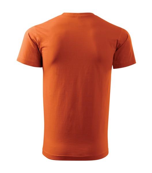 Tričko pánské Malfini Basic - Oranžová / 4XL