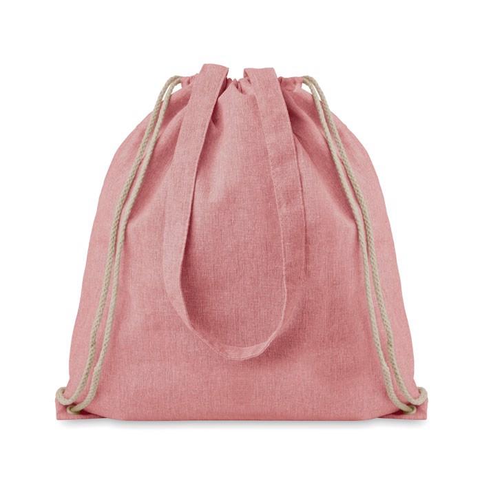 Nákupní batoh se šňůrkami Moira Duo - red
