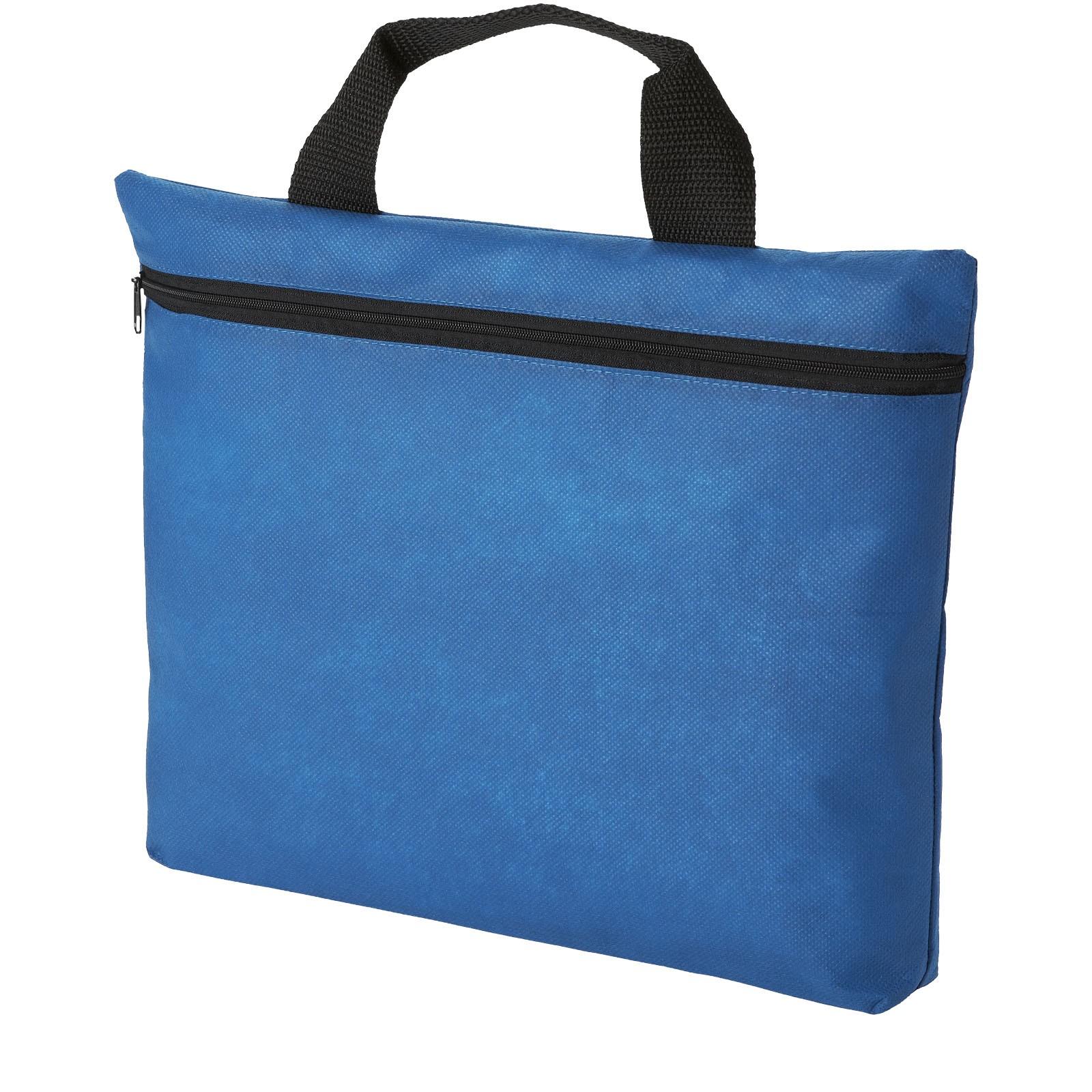 Netkaná konferenční taška Edison - Světle modrá